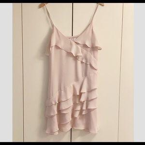 XS Parker Dress $298 Retail Pink
